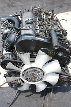 USED JAPANESE MITSUBISHI 4D56 ENGINE BOTH WITH TRANSMISSION AND WITHOUT TRANSMISSION (GEARBOX)