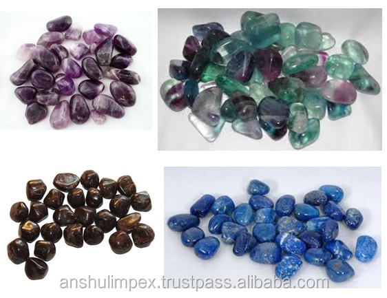 Natural Amethyst Tumbled Stone for healing, meditation and decoration