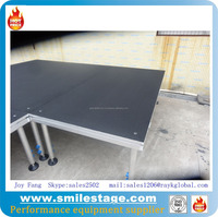 Aluminum Portable Wooden Board Moving Stages