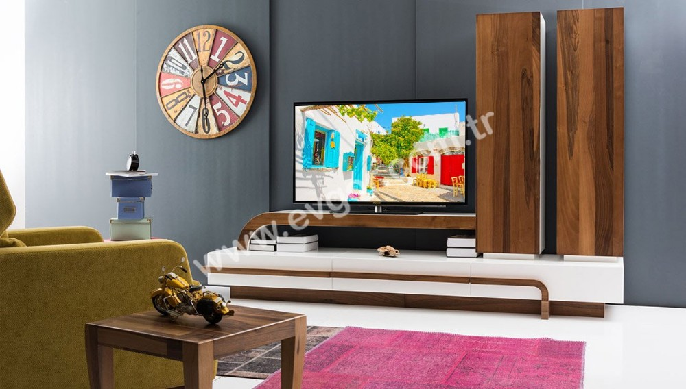 Vettore Wooden TV Unit