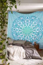 Indian Hippie Bohemian Mandala Tapestry Gypsy Boho Wall Hanging, Ethnic Decor Tapestry, Bedspread Beach throw
