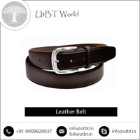 Good Quality Customly Fabricated Leather Belt Available at Market Price