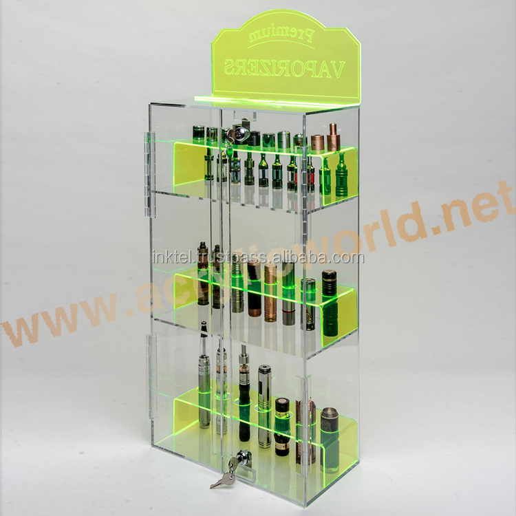 e juice acrylic display/custom electronic cigarette display/acrylic e liquid display