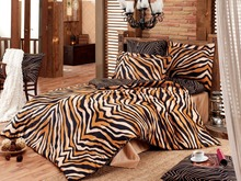 Majoli Satin Bedsheet Set 6 Pcs King size, Bengal