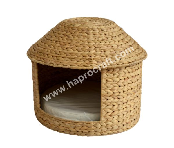 Pet Bed in Vietnam / Handicraft Antique Design Pet House - HS 4450