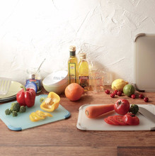 Portable and High quality pp cutting board with antibacterial, distributor wanted