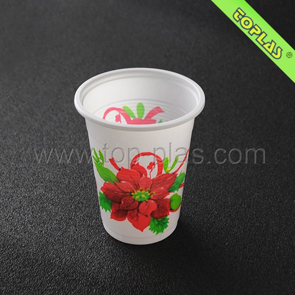 Logo Printable Customized Disposable Plastic Drinking Cup