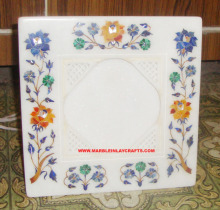 Exclusive White Marble Picture Frame