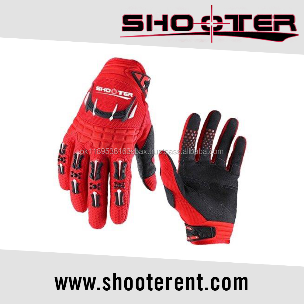 Motorcycle motocross full finger bike gloves