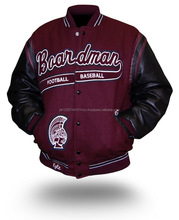 High Quality Best Selling Thick Wool Made Custom Blank Wholesale Letterman Varsity Jackets