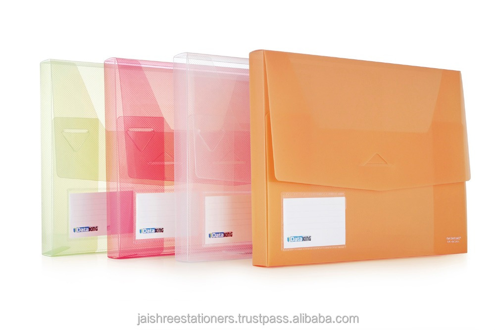 Document case/case with elastic/pp document case/transparent case