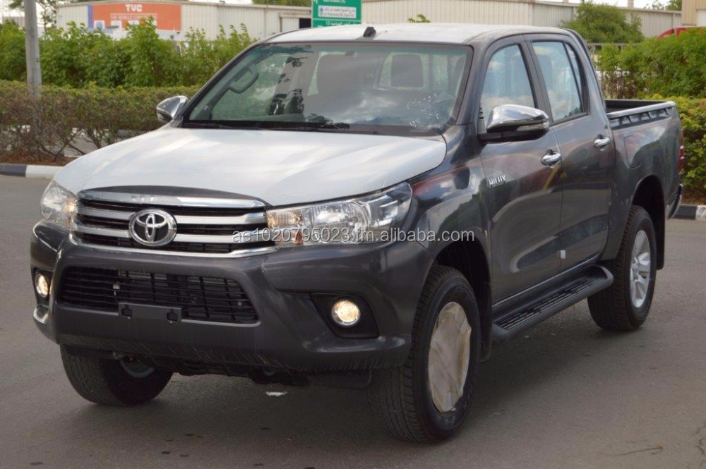 2016 MODEL TOYOTA HILUX DOUBLE CAB SR5 2.4L DIESEL 4WD,ABS, AIR BAGS, POWER, CAMERA MANUAL TRANSMISSION