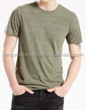 Classic crew neck t-shirt comfortable and smooth fiber For all wears