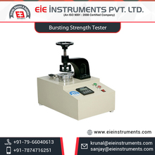 Reliable Digital Bursting Strength Tester by Reputed Certified Company from India