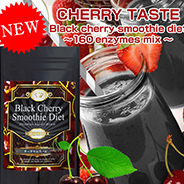 160 ENZYME MIX Black Cherry Smoothie Fasting Diet Made in Japan