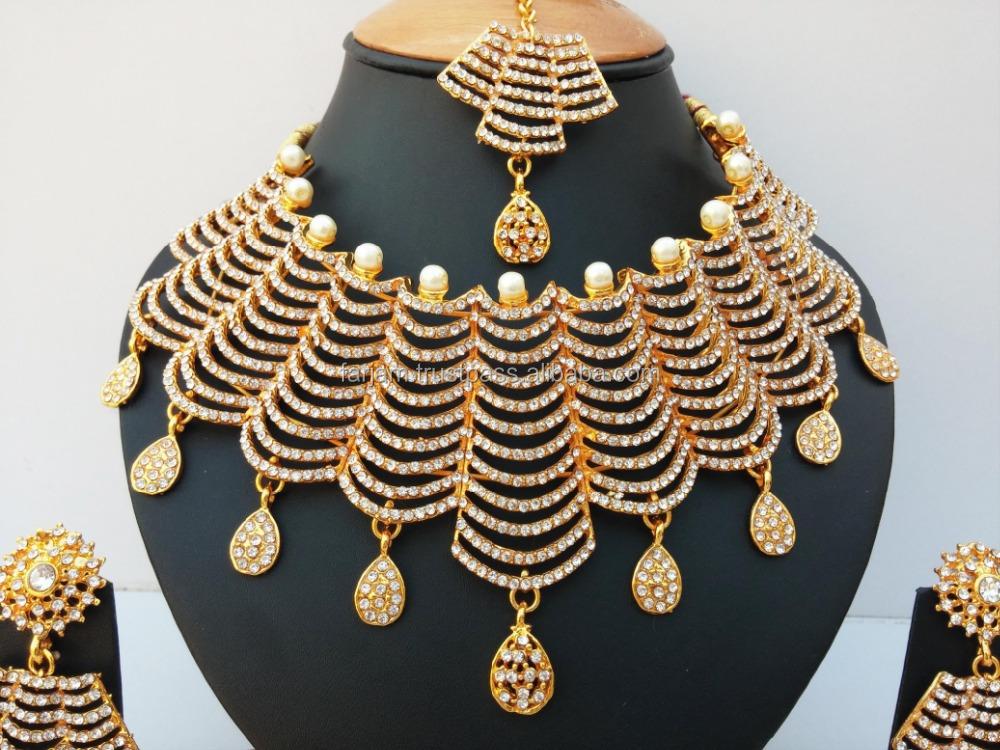 Indian Latest Bollywood Wholesale Royal Inspired Kundan