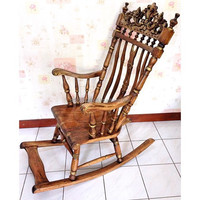 Rustic Classic Rocking Chair