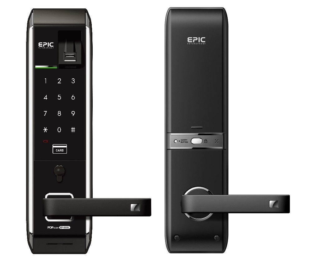EPIC EF8000L FINGERPRINT DIGITAL DOOR LOCK
