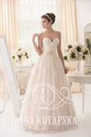 """Jdana"" princes pinkish powder wedding dress"
