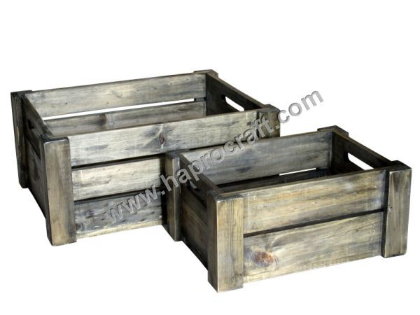 Chep wooden crate fruit with high quality new design for for Buy wooden fruit crates