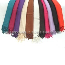 factory suply wool viscose shawls in best quality Viscose pashmina Scarf Shawls