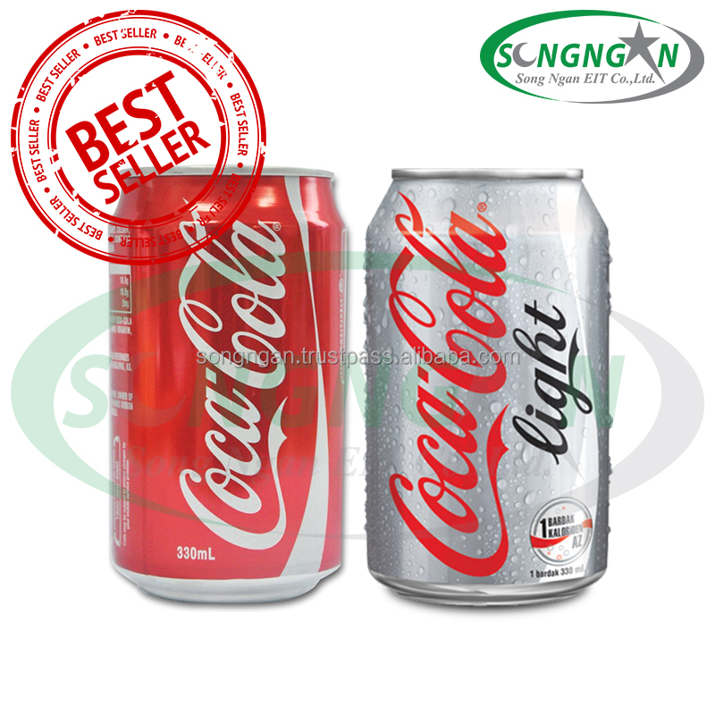 COCA SOFT DRINK - CAN 330ML AND PLASTIC BOLLTE 390ML