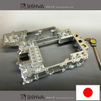 High quality aluminum case 3D Machining parts with clean finish made in Japan
