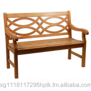 teak bench 2 seater maldives