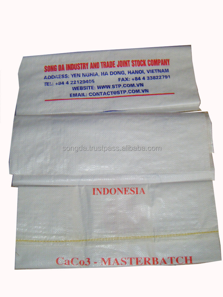 Printing virgin PP woven bag for agriculture product - big quantity