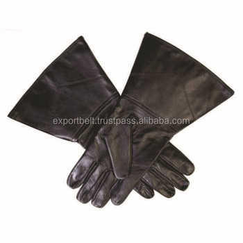 Masonic Regalia hand Embroidered leather Gloves, white cotton gloves