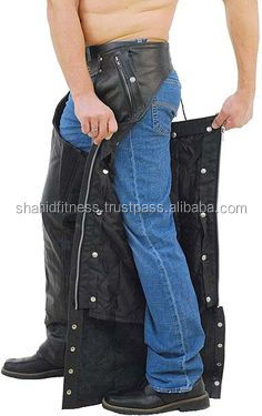 top high quality Leather Chaps - Biker Leather Chaps - Motorbike Apparels