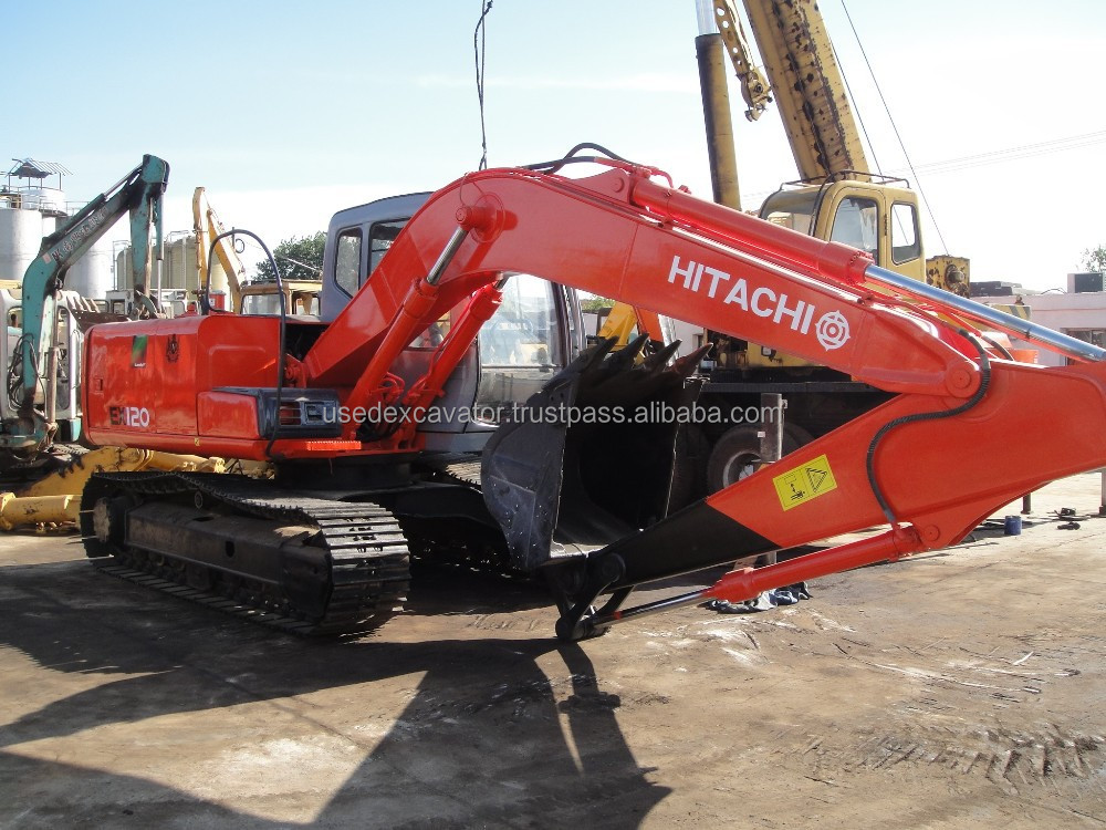 Used Hitachi EX120-5 Excavator Hitachi ex120-5 crawler excavator also Hitachi ex120-1 ex120-2 ex120-3