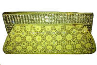 Hand Embroidery Fashional Jewelly Embroidered Handbag