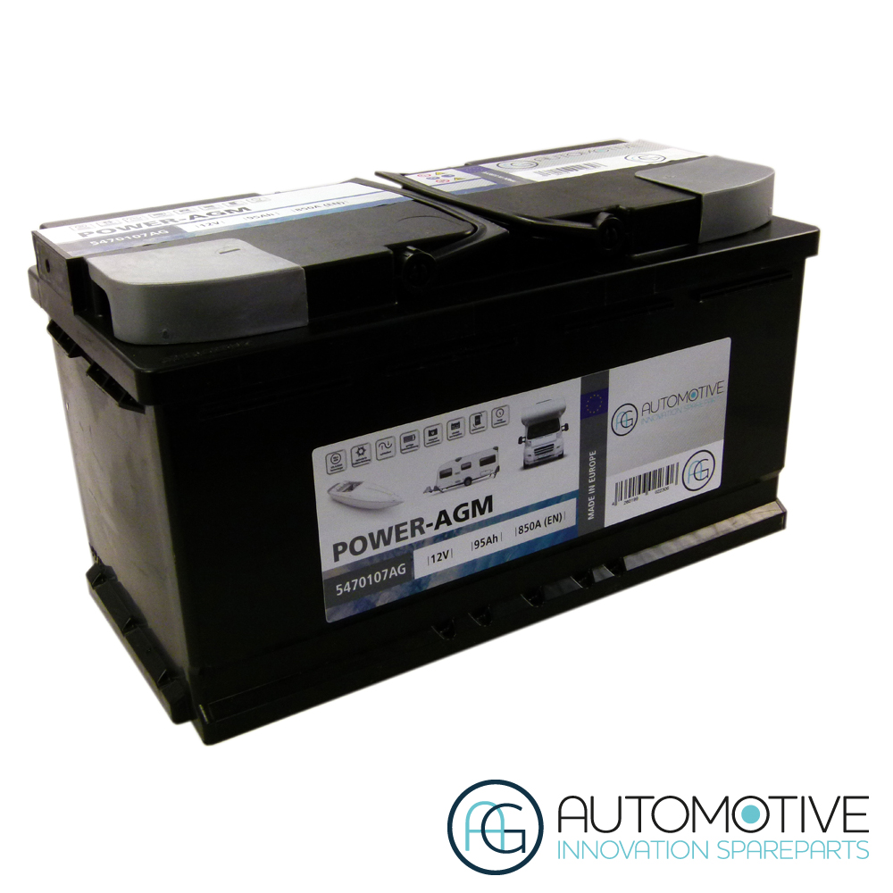 Battery POWER-AGM construction Battery 95Ah 850A