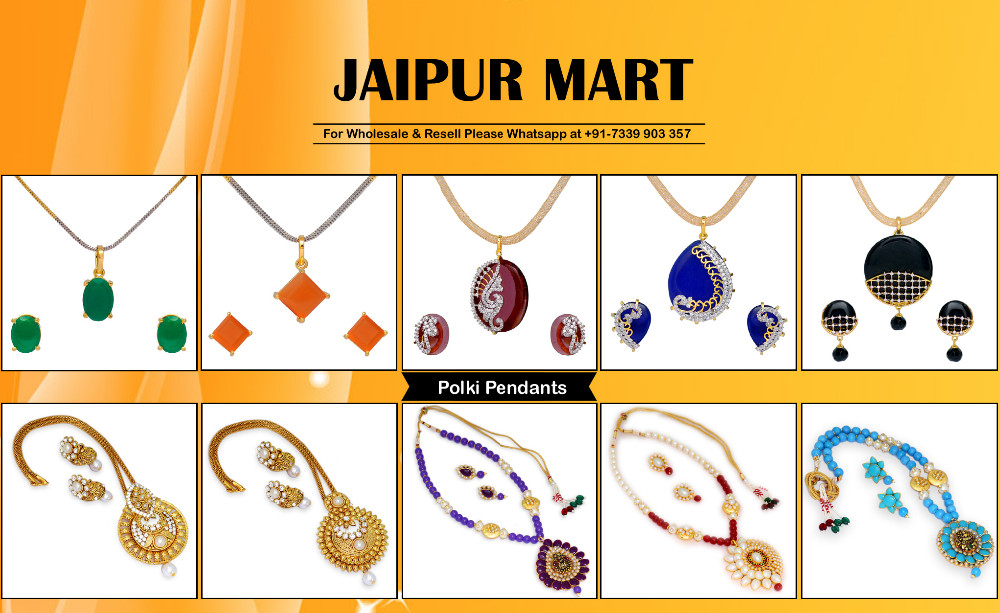 Jaipur Mart Gold Plated Blue & Rani Color Colored Glass Stone, Color Beads, Pearl Necklace With Earrings Combo Of 2 Pieces