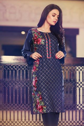 Pakistani Fashionable Shalwar Kameez For Ladies