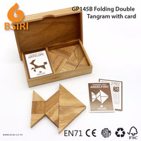 Tangram Puzzles for Kids Traditional Wooden Toys