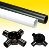 conduit PVC fittings electrical pipe conduit UAE