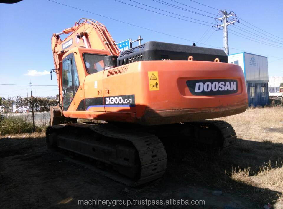 High Quality Used Doosan Excavator Price, Used Doosan DH300LC-7 Excavator