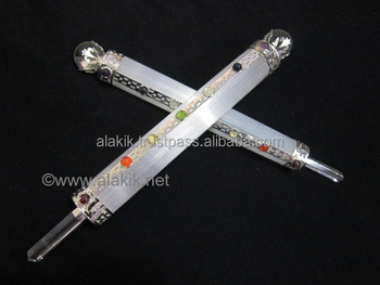 Selenite Chakra Healing Wands : Selenite Wholesale : Selenite Aura Cleansing Wands