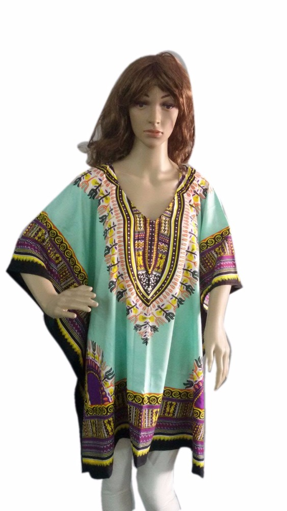Poncho - Dashiki - African Dress - Jungo Dress - African Fabric