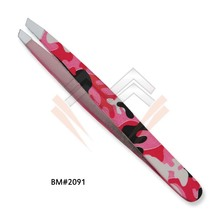 LED Stainless Steel Eyebrow Tweezers