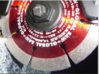 Balanced design grinder metal cutting blade saw blade for a wide range of material strong abrasive grain of holding power