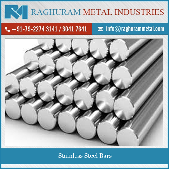 Smooth Surface Finish Longer Working Life Stainless Steel Bars at Bulk Price