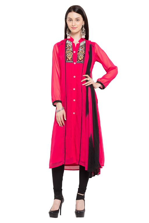 Designer Party wear Ladies Long Kurti Kurta