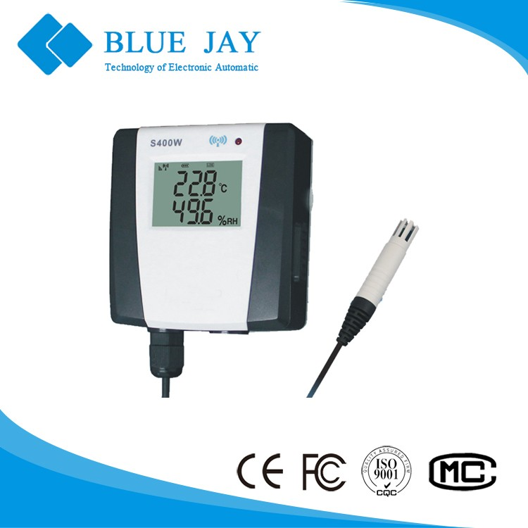 S400W-EX Wireless Remote usb temperature data logger wireless data logger with monitor system, range -20C to 70C