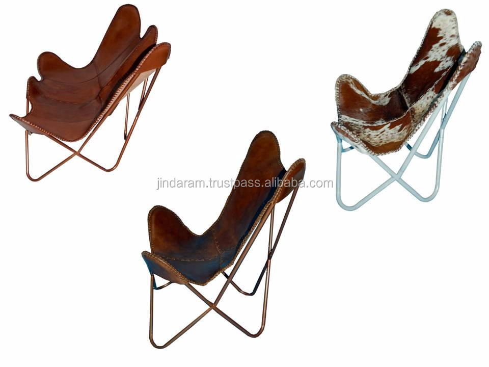 Large Recliner Butterfly Chair Stand