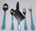 High Quality Stainless Steel Mirror Polish Flatware with Multicolour enamel Handle Cutlery