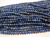 Afghan Lapis lazuli round 5-6mm gemstone bead strands wholesale