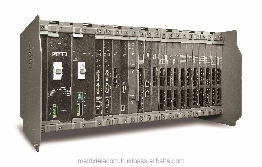 PABX System with 512 Ports Matrix ETERNITY ME16S